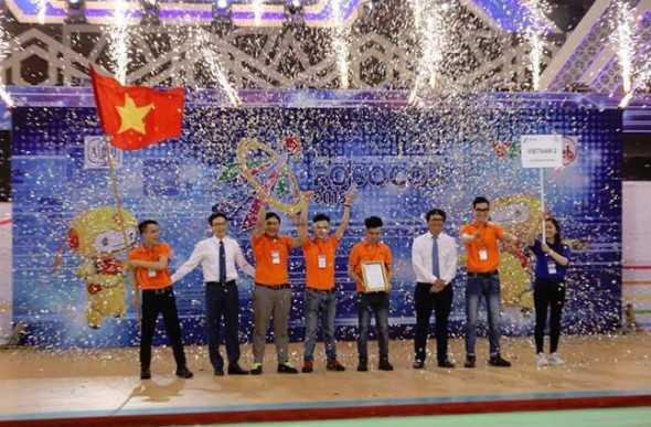 Việt Nam lần thứ 7 vô địch Robocon