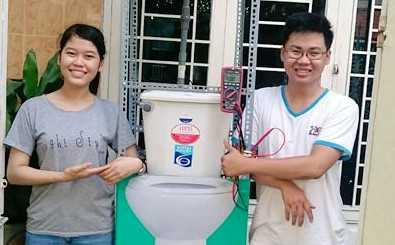 Nguyễn Công Tín và Nguyễn Thị Thanh (Đại học Duy Tân)