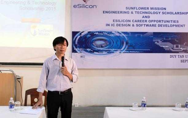 Hội thảo giới thiệu học bổng Sunflower Mission ở Đại học Duy Tân