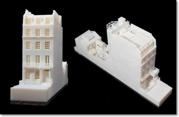 Mô hình nhà in bằng máy in 3D