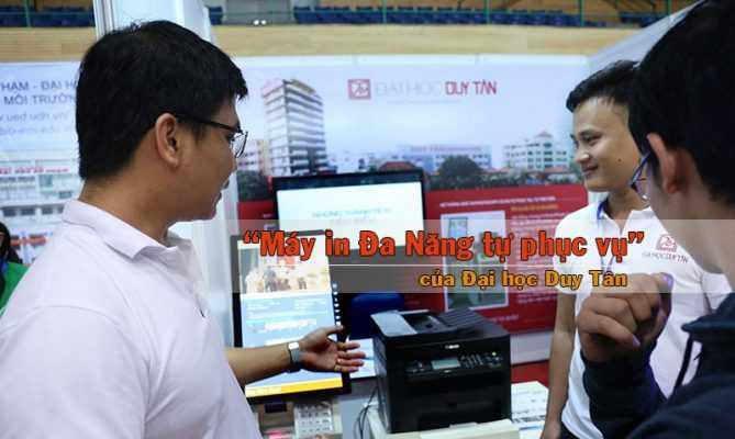 """Sản phẩm """"Máy in đa năng tự phục vụ"""" của Đại học Duy Tân"""
