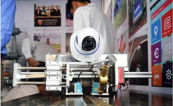 Ngành Thiết kế số - Nhiều sản phẩm hữu ích của sinh viên Khoa Điện - Điện tử được đưa vào thử nghiệm tại địa phương và nhận được sự ghi nhận của cộng đồng