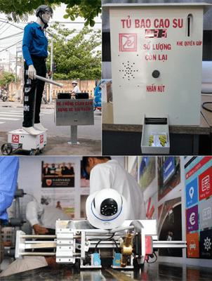 Một số sản phẩm do sinh viên Khoa Điện - Điện tử, Đại học Duy Tân chế tạo